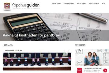 Kopahus.se - Webbdesigner